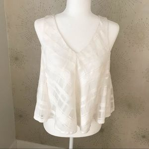 MAEVE White Swing Top SOLD OUT